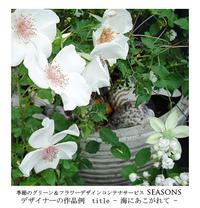 季節のグリーン&フラワーデザインコンテナサービス「シーズンズ」seasons